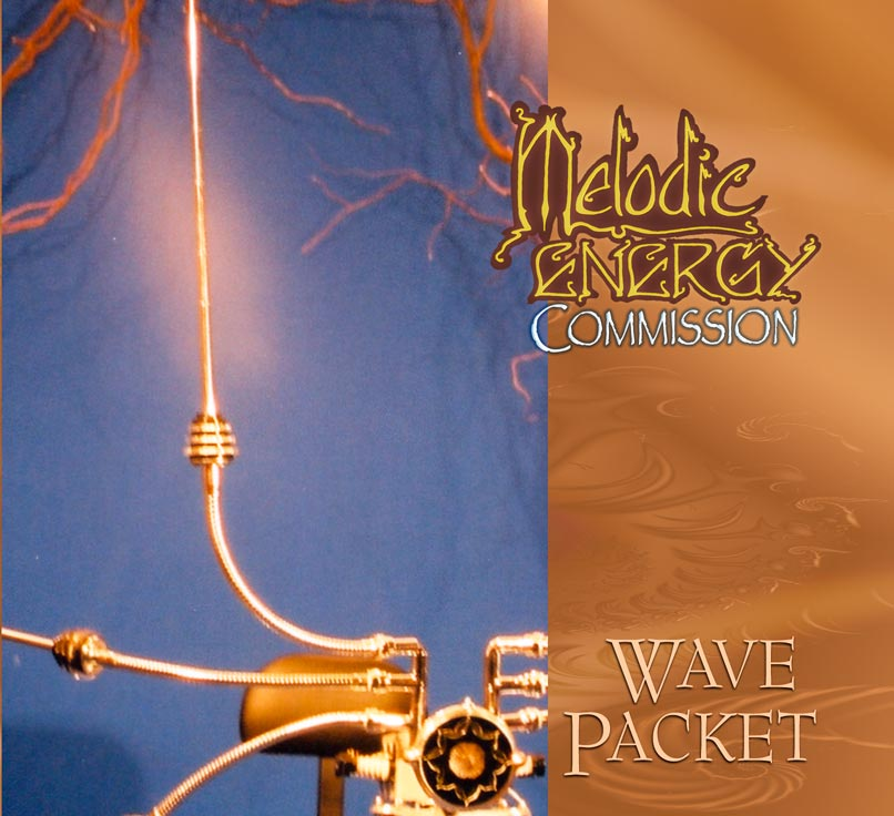 Wave Packet cover design